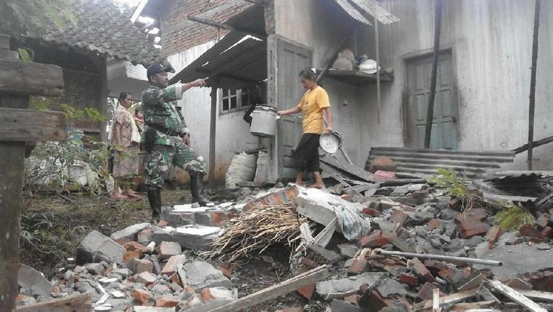 Ini Penampakan Kerusakan di Malang Akibat Gempa 5,8 SR