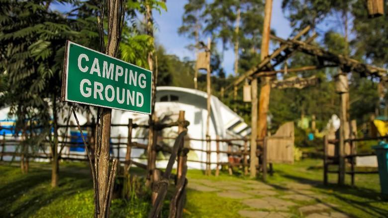 Ilustrasi Glamour Camping