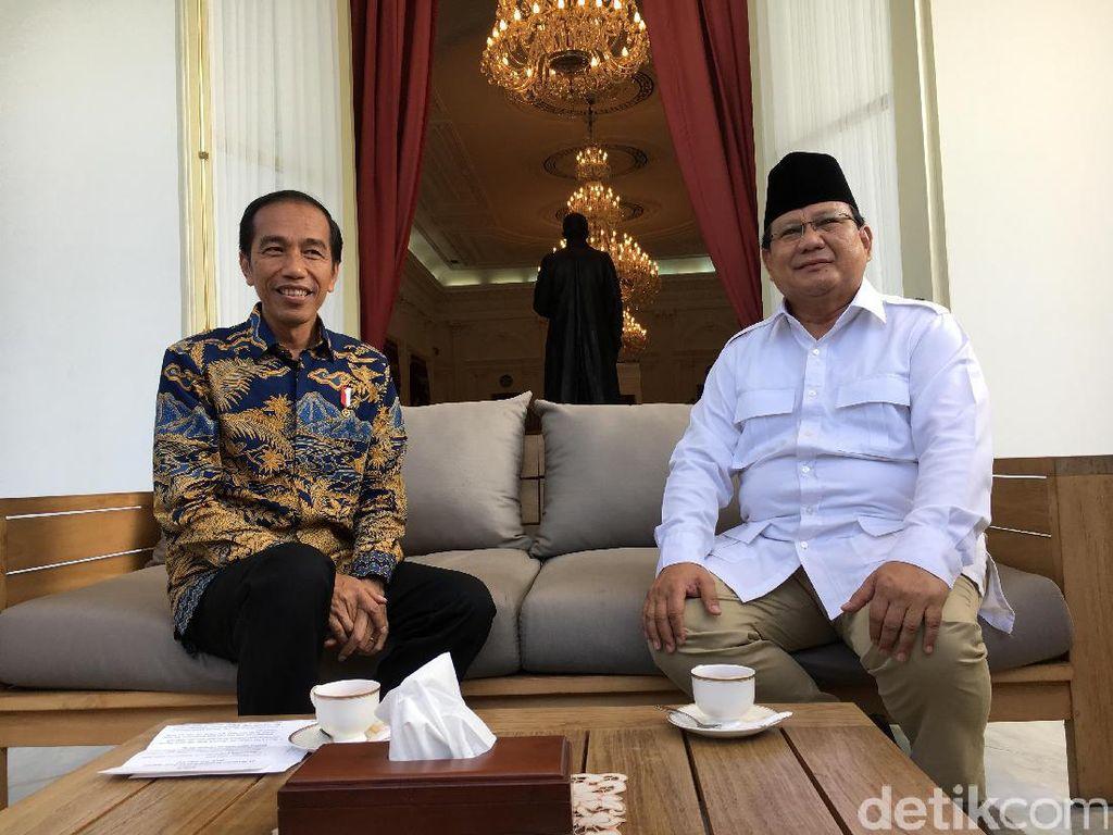 Elektabilitas Jokowi Kalahkan Prabowo di Jabar-Jateng-Sumut-Sulsel