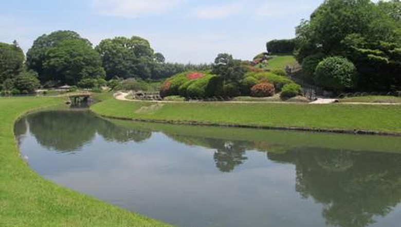 Taman Okayama Korakuen (Afif Farhan/detikcom)