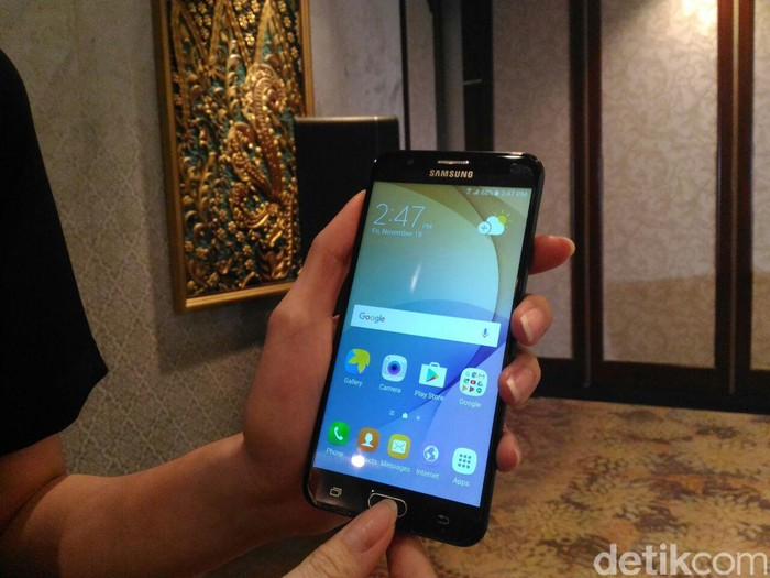 Galaxy J Prime. Foto: detikINET/Yudhianto