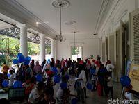 Balai Kota DKI Diserbu Ratusan Anak Ikut Lomba Mewarnai Dan