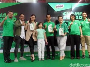 Milo Champ Squad Center Pantau Aktivitas dan Nutrisi Anak