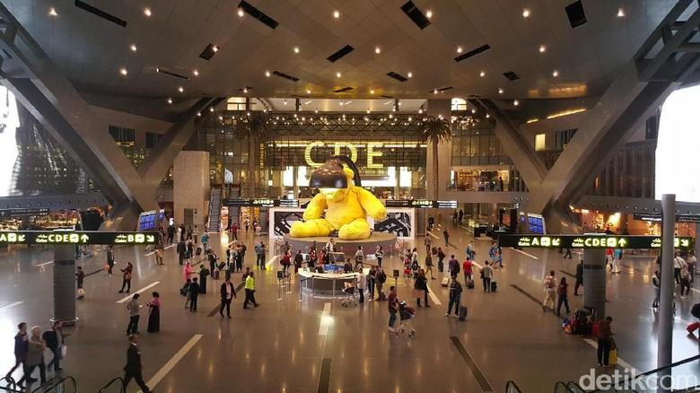 Bandara Internasional Hamad di Qatar