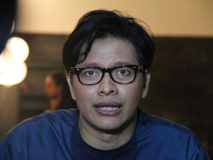 Armand Maulana syuting video klip di Wijaya, Jakarta Selatan.