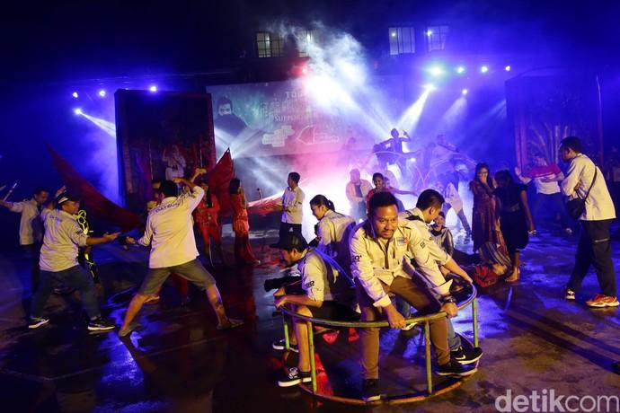 Pertunjukan Spektakuler SMA Selamat Pagi Indonesia Jadi Hiburan Risers DRE