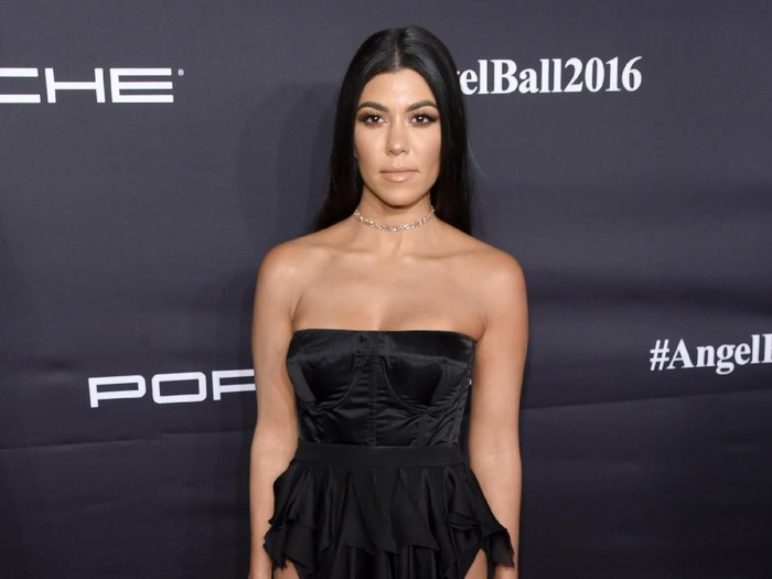 NEW YORK, NY - NOVEMBER 21:  Kourtney Kardashian attends the 2016 Angel Ball hosted by Gabrielles Angel Foundation For Cancer Research on November 21, 2016 in New York City.  (Photo by Jamie McCarthy/Getty Images for Gabrielles Angel Foundation)