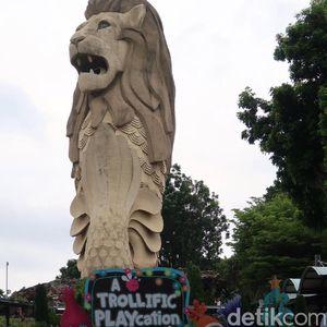 Gegara Proyek Ini, Patung Merlion di Singapura Terancam Dirobohkan
