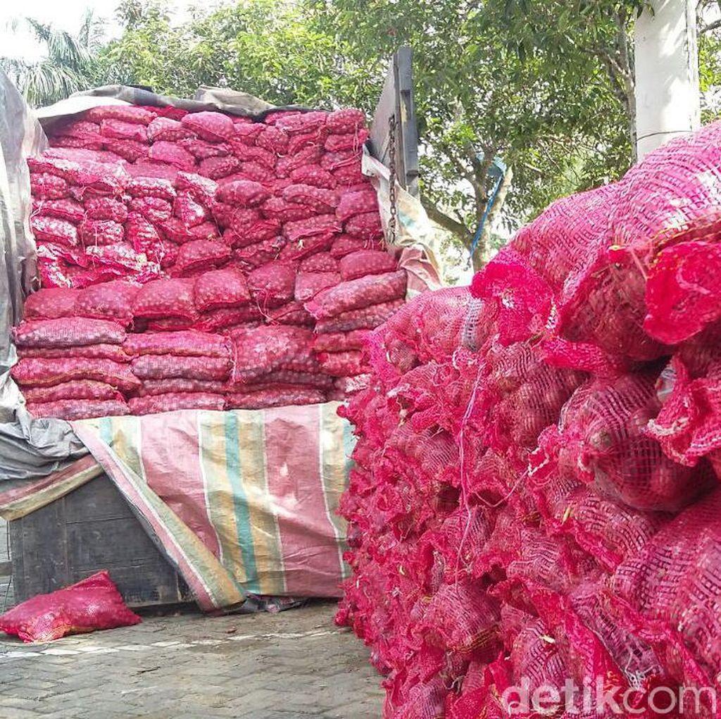 Bawang Merah Palsu yang Masuk RI dari India