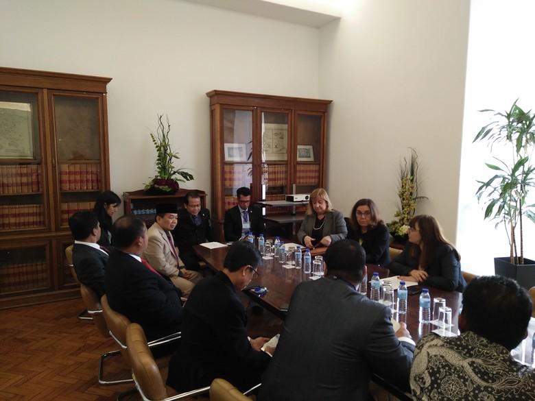 Diskusi dengan DPR, Portugal Jajaki Peningkatan Kerja Sama Perdagangan