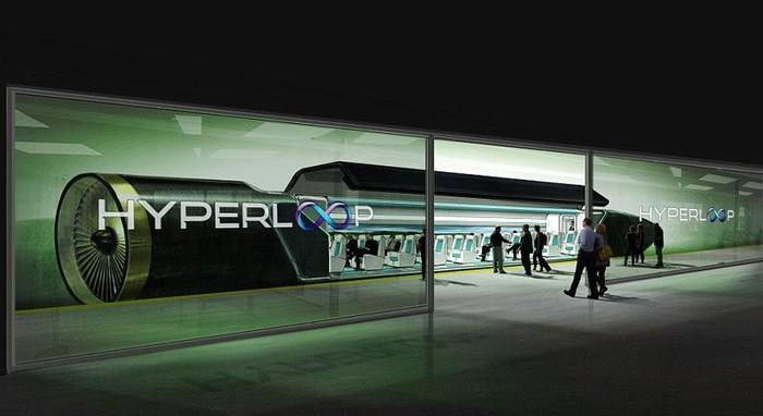 Ilustrasi Hyperloop. Foto: Hyperloop