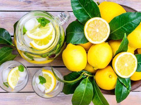 Infused Water Lemon