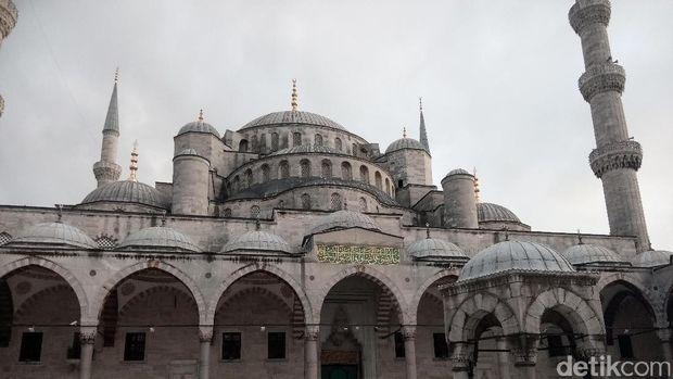 Blue Mosque di Istanbul