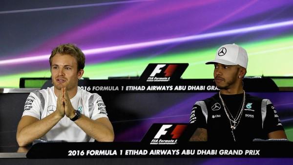 Cuma Ingin Menang, Rosberg Tak Pikirkan Skenario-Skenario Jadi Juara Dunia