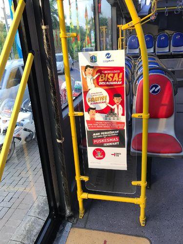 Informasi Penyakit TB Bisa Didapat di Melalui Bus Lho