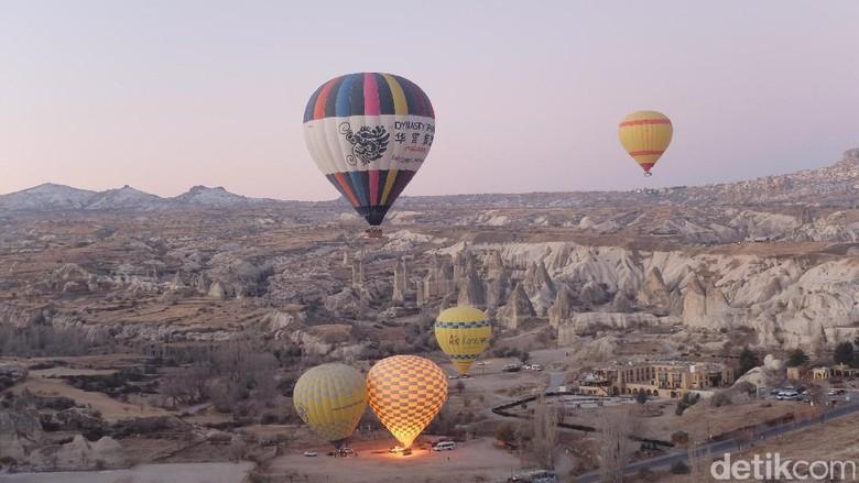 Balon udara di Turki (Rois Jajeli/detikcom)