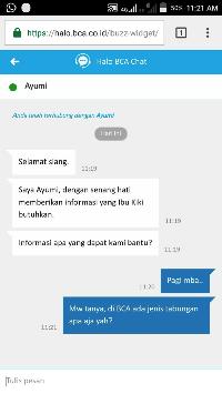 Halo BCA Chat: Fitur Chat yang Memudahkan Akses Informasi Produk BCA