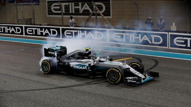 Titel Juara Dunia Nico Rosberg dalam Angka