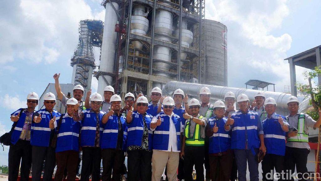 Komisi VI Kunjungi Pabrik Semen di Rembang