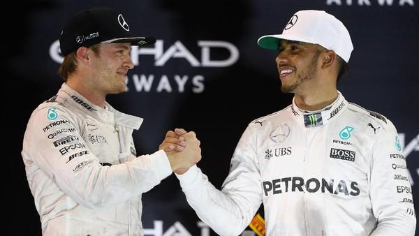 F1 2016: Hamilton Lebih Banyak Menang, tapi Rosberg Kampiunnya