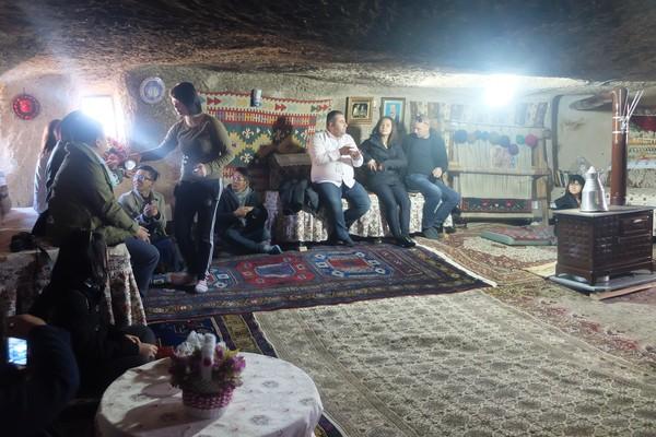 Selain Hoodoo, Cappadocia juga punya kota bawah tanah, lo. (Rois Jajeli/detikcom)