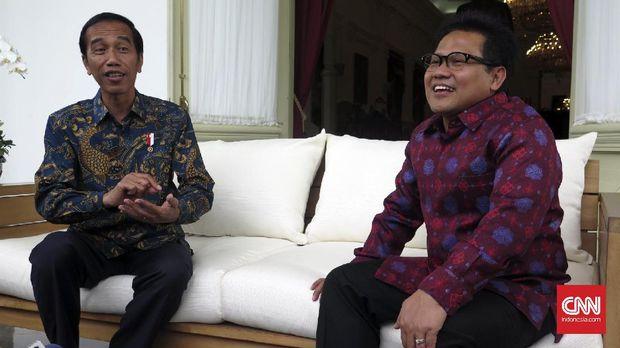 Jokowi Berterimakasih Muhaimin Bantu Kerja Politik