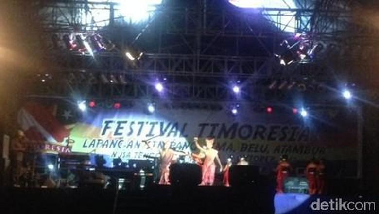 Ilustrasi festival Atambua (Sastri/detikTravel)