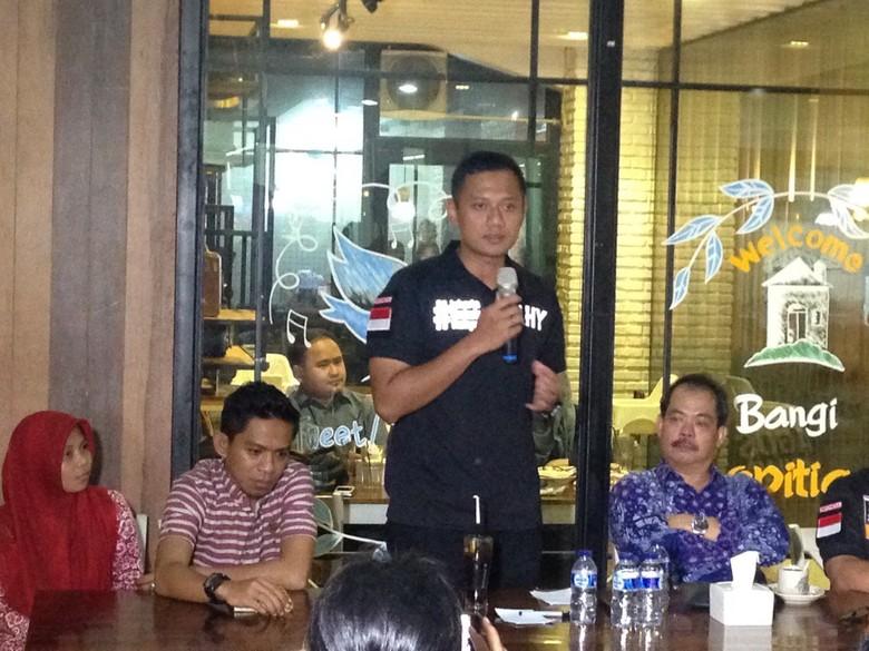Bertemu HMI, Agus Yudhoyono Serap Aspirasi