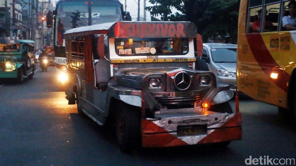 Angkot Mirip Oplet Si Doel Ada Juga di Filipina