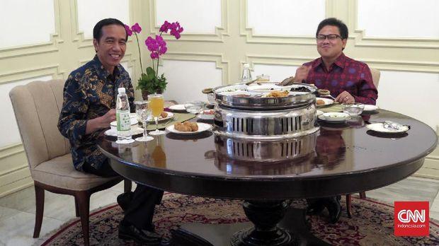 Cak Imin dan beberapa elit parpol berkunjung ke Istana terkait pilpres 2019