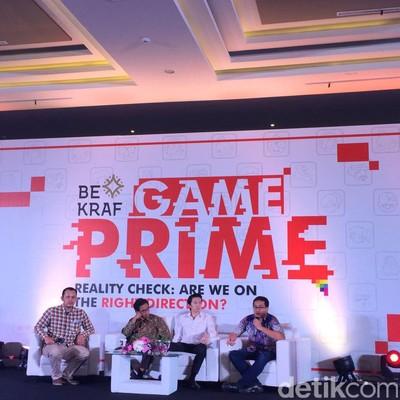 Bekraf Game Prime. Foto: detikINET/Muhammad Alif Goenawan