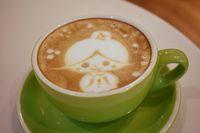 Coffee Cup by Cherie Asyiknya Ngopi Hot Latte Diiringi