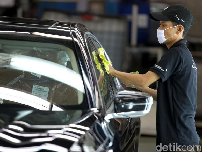 Pabrik mobil BMW di Indonesia (Foto: Agung Pambudhy)