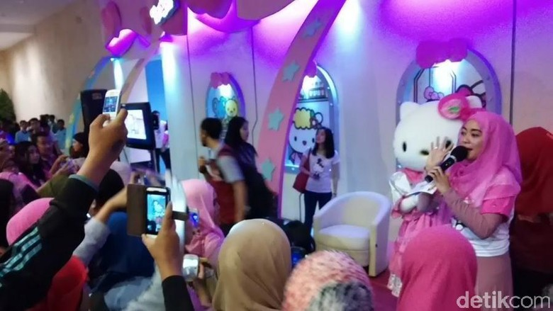 Wahana Hello Kitty di Dufan (Randy/detikTravel)