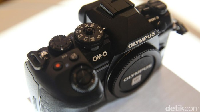 Ilustrasi kamera Olympus. Foto: detikINET/Ari Saputra