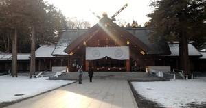 Patung Pendiri Kota Sapporo & Ramalan Nasib di Kuil Hokkaido Jingu