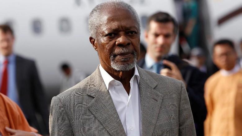 Mantan Sekjen PBB Kofi Annan Meninggal Dunia di Usia 80 Tahun