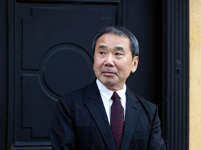 ODENSE, DENMARK - OCTOBER 30: Japanese author Haruki Murakami outside the house of Danish author Hans Christian Anderson prior to Murakamis receival of the prestigious Hans Christian Anderson Literature Award at the City Hall in Odense on October 30, 2016, in Demark. (Photo by Ole Jensen/Corbis via Getty images)
