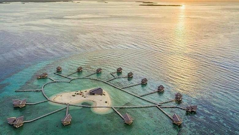 Pulo Cinta Eco Resort di Gorontalo