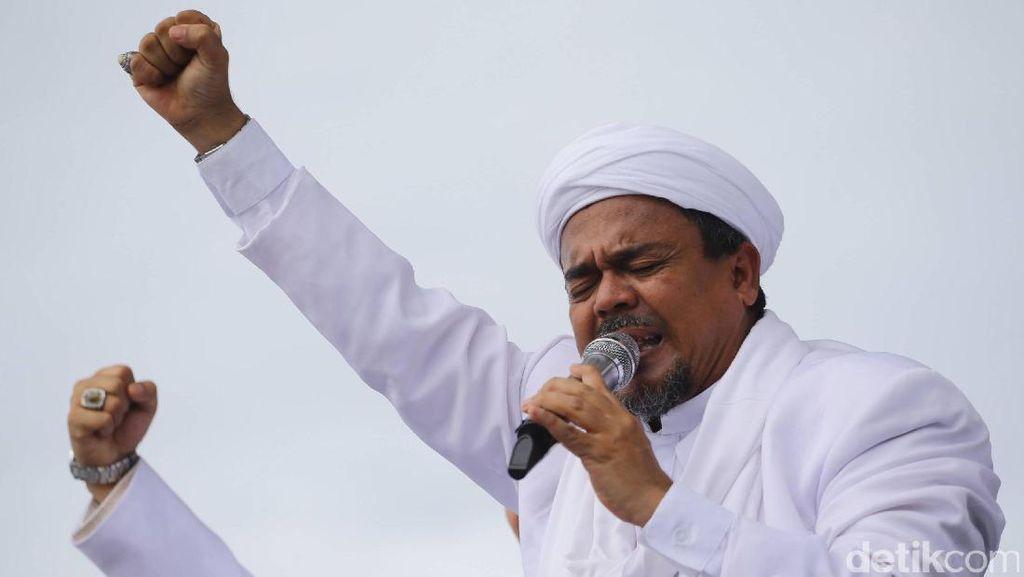FPI dkk Akan Polisikan Upaya Pembakaran Poster Habib Rizieq di Aksi 27 Juli