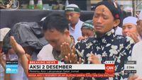 Massa Aksi 2 Desember Tersedu Saat Qunut Salat Jumat di Monas