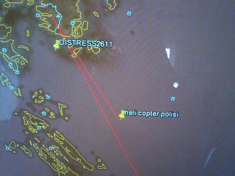 Kekuatan Pencarian Pesawat Polri yang Jatuh: 300 Personel dan 15 Kapal