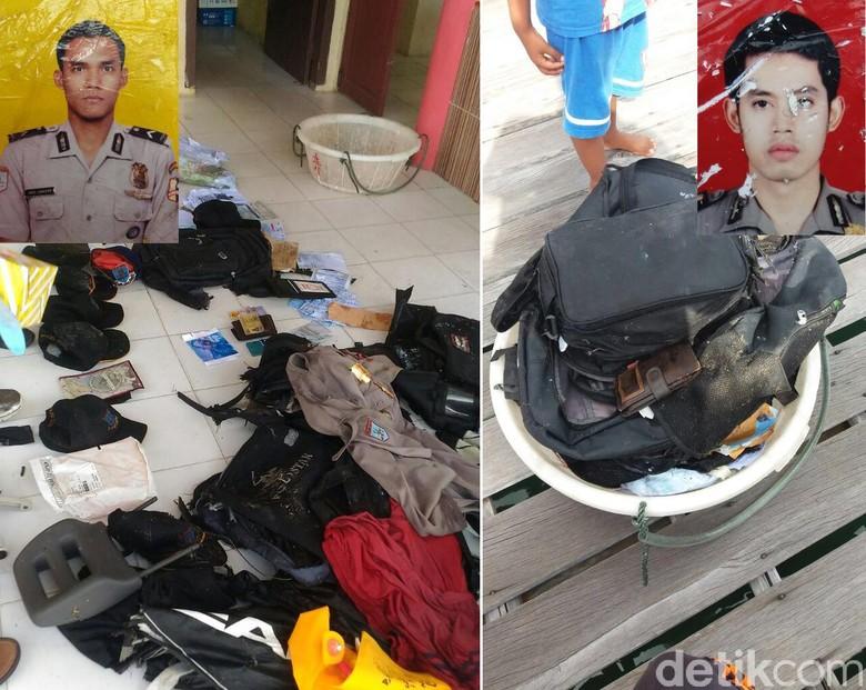 Barang-barang Korban Pesawat Jatuh: Topi dan 2 Pas Foto Polisi
