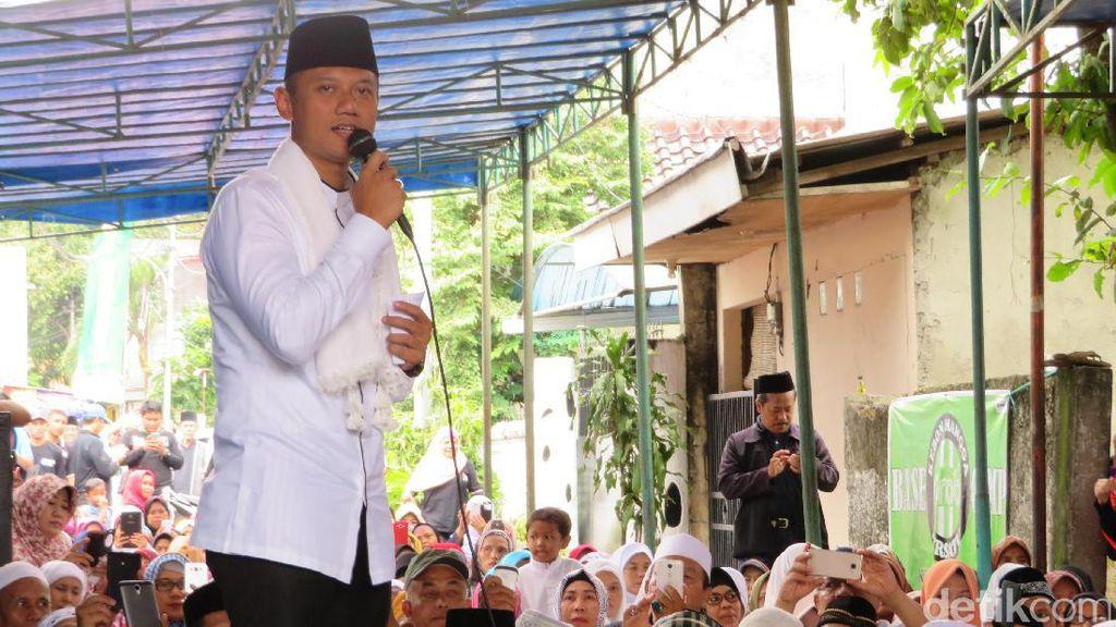 AHY Dewan Pembina Timses Prabowo, Tim Jokowi: Kenapa Tak Jadi Ketua?