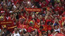 Sepakbola Vietnam Bergulir Akhir Pekan Ini, Penonton Boleh ke Stadion