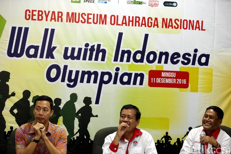 Kemenpora Gelar Walk With Indonesian Olympian 2016
