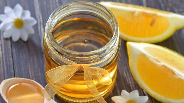 khasiat lemon dan madu