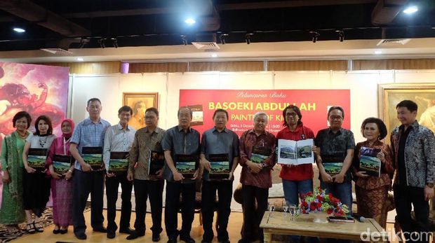 Balai Lelang Masterpiece Luncurkan Buku 'Basoeki Abdullah - Painter of Kings'