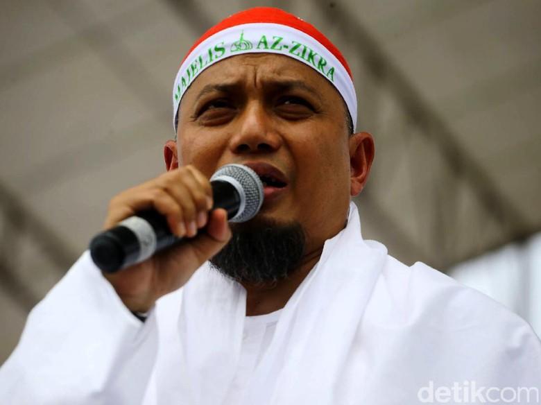 Keluarga Ungkap Ustad Arifin Ilham Sulit Istirahat saat Dirawat di Jakarta