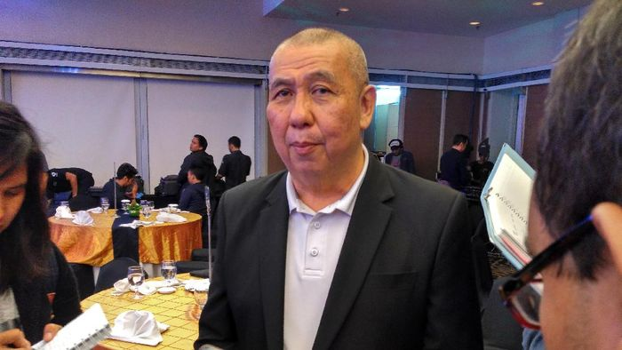 Ketua Umum PP Perbasi, Danny Kosasih (Mercy Raya/detikSport)